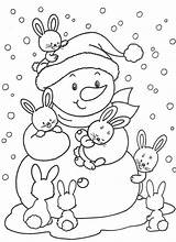 Coloring Pages Printable December Winter Sheets Coloringfolder sketch template