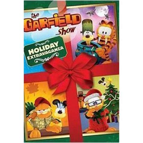 Garfield Halloween Special Dvd by Garfield Show Holiday Extravaganza Dvd Review Beyond
