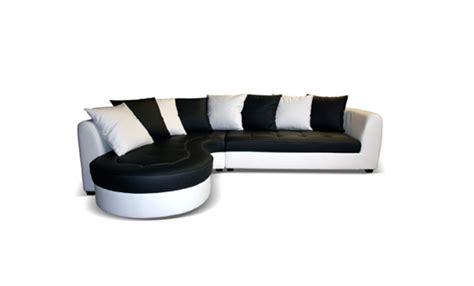 canapé forme haricot canape d 39 angle à gauche haricot blanc noir