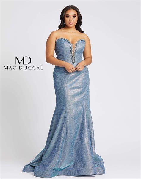 Mac Duggal Prom Long Plus Size Dress   Dresses, Plus size ...