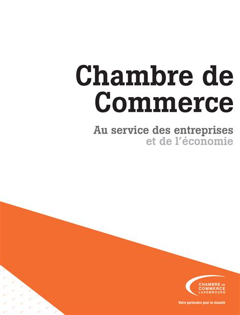 publications chambre de commerce