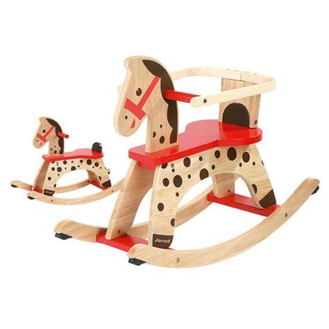 cheval à bascule caramel janod king jouet porteurs
