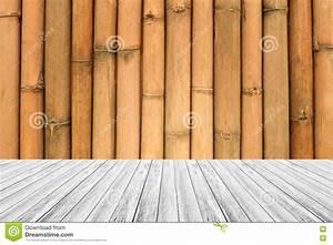 Texture Terrasse Bois : texture terrasse et de mur en bois de bambou image stock ~ Melissatoandfro.com Idées de Décoration