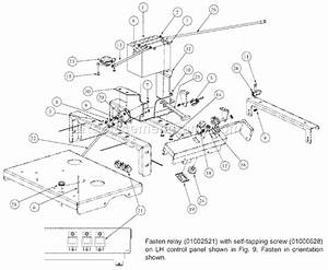 Mtd Mmz-1848 Parts List And Diagram