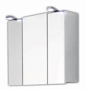 Spiegelschrank Bad Led : spiegelschrank mit led beleuchtung wei bad spiegelschr nke ~ Frokenaadalensverden.com Haus und Dekorationen
