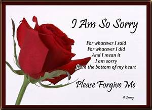I Am So Sorry And I Mean It. Free I Am Sorry eCards ...