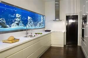 Ideen Für Küchenspiegel : aquarium deko k chenr ckwand felsen wei e k chenschr nke ideen rund ums haus pinterest ~ Sanjose-hotels-ca.com Haus und Dekorationen