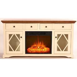 electric corner fireplace