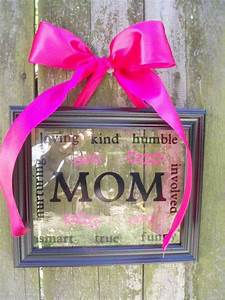 Personalized Framed Art #etsy | Holiday: Mothers Day ...