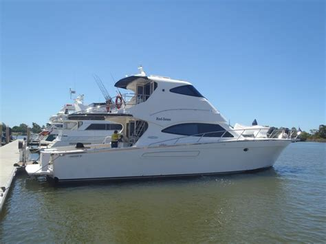 Boat Brokers Gold Coast Qld by 2005 Precision 58 Flybridge Power Boat For Sale Www