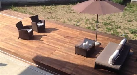 Es Sieht Wie Ein Normale Terrasse Aus, Doch Wenn Man Auf Den Knopf Drückt, ändert Sich Alles