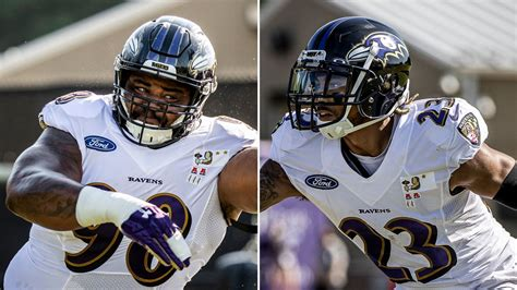 Brandon Williams, Anthony Averett Return to Ravens Practice