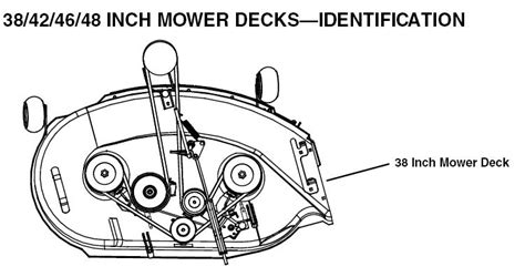 Drive Belt Diagram For John Deer Inch Deck