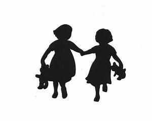 Little Girl Walking Away Silhouette | www.imgkid.com - The ...