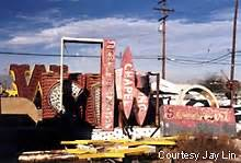 Roadside Peek Las Vegas Neon Sign Graveyard 2