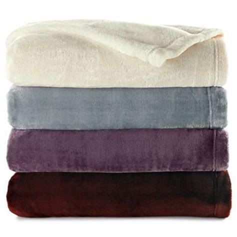 royal velvet blanket royal velvet silk touch blanket ivory