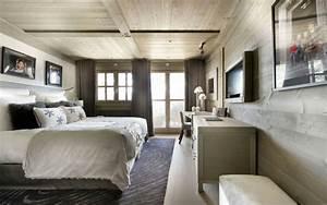 Plaisir D Interieur Deco Montagne : d co chalet montagne une centaine d 39 id es pour la chambre coucher ~ Dallasstarsshop.com Idées de Décoration