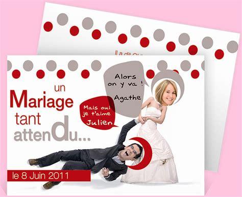 faire part mariage original gratuit à imprimer faire part mariage humoristique gratuit imprimer mv93