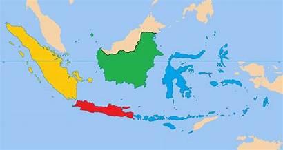Peta Indonesia Gambar Animasi Lengkap Warna Map