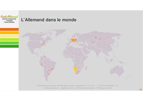 chambre de commerce franco non à la disparition programmée de l 39 allemand de l