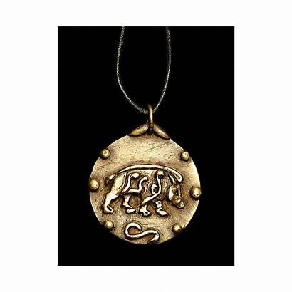 Celtic Medallion Boar