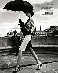 Vintage Paris Black and White Fashion