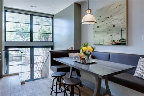 Banquette Table Overhang by Surprising Kitchen Banquette Furniture Decorating Ideas