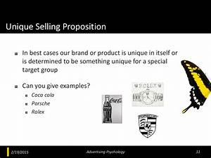 Unique Selling Proposition In best
