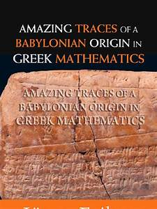 106782752 Amazing Traces Of A Babylonian Origins In Greek