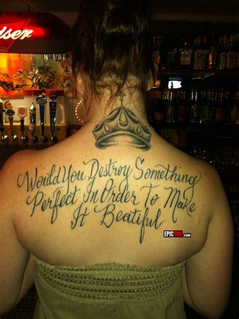 tattoo spelling fail ummmmm tattoo fails