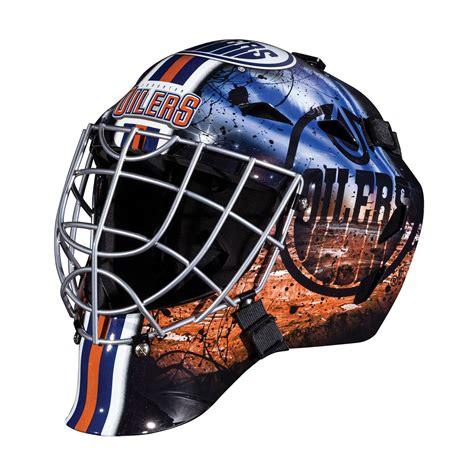 franklin sports nhl edmonton oilers goalie face mask