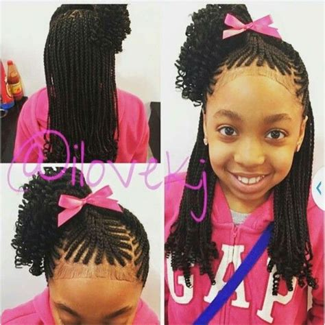 Lil Braiding Hairstyles by So Styles Hair Styles Braided