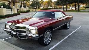 1972 Chevy Caprice Convertible Frame