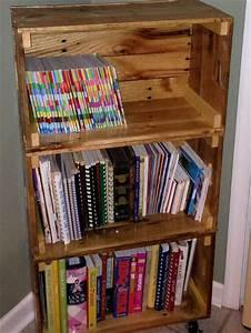 diy bookshelf ideas with pallet wood pallet furniture plans