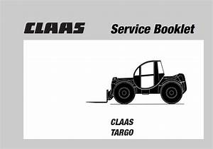 Claas K50  K60  K70 Targo Telescopic Forklifts Pdf Manuals