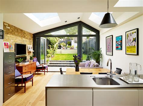 Victorian House Extended Up And Out