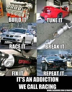 That sums it up... Muscle Car Racing Quotes
