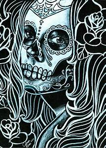 sugar skull lady | Tumblr