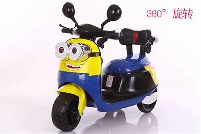 Minion Scooter Electric Ride Battery Motorbike Lazada