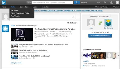 Upload Resume Linkedin Profile by How To Upload Your Resume To Linkedin Market