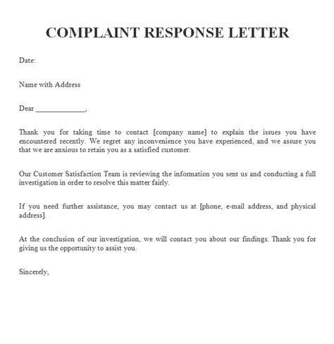 complaint letters archives  sample letters