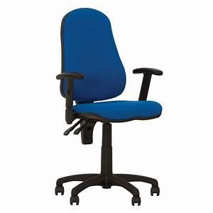 Chaise De Bureau Bleu : offix fauteuil chaise de bureau ergonomique dossier ~ Teatrodelosmanantiales.com Idées de Décoration