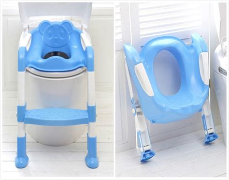 baby toilet seat folding potty seat chair with ladder