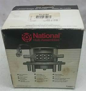 National Wheel Bearing And Hub Assembly Front For 95
