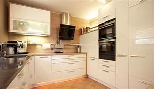 Design einbaukuche systema 4030 weiss hochglanz lack for Einbaukuche