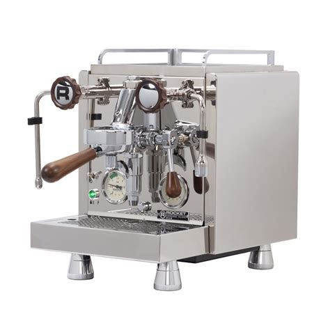 Let kl5 coffee help, our showroom has a number of models on display. Rocket Espresso R58 Espresso Machine - Walnut Accents - Whole Latte Love