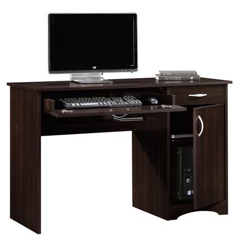 computer desk pc table beginnings computer desk 413072 sauder