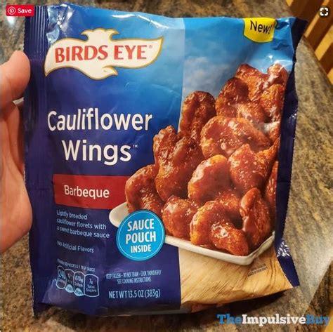 birds eye barbeque cauliflower wings junk food snacks