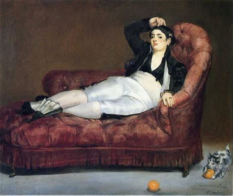 Young Woman Reclining In Spanish Costume, 1863