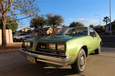 Sell Used 1976 Pontiac Sunbird Base Coupe 2-door 3.8l, 2